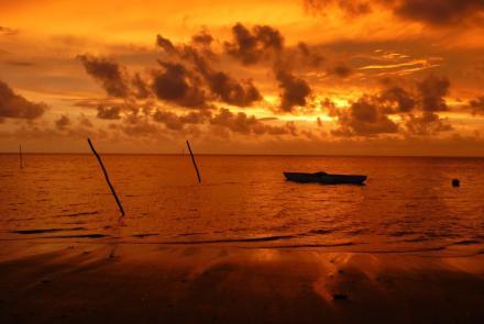 Papua New Guinea sunset