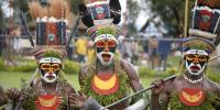Goroka show in Papua New Guinea